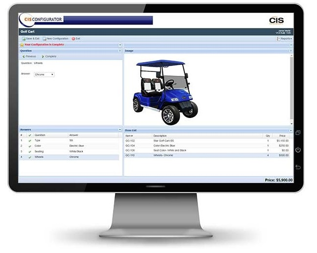 Configurator guided video demo